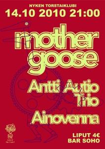 MotherGoose Antti Autio Trio Ainovenna by Nici